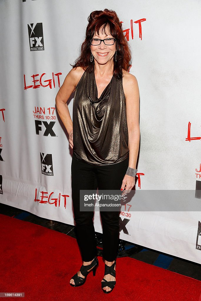 Actress Mindy Sterling attends the screening of FX's new comedy series 'Legit' on January 14, 2013 in Los Angeles, California.