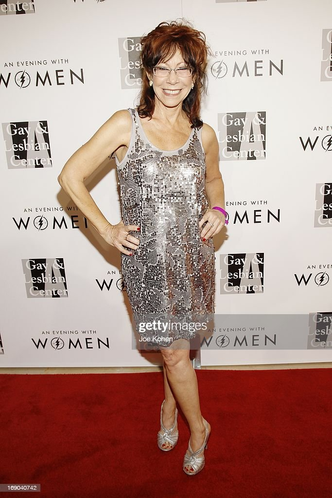 Actress Mindy Sterling attneds the L.A. Gay & Lesbian Center's 2013 'An Evening With Women' Gala at The Beverly Hilton Hotel on May 18, 2013 in Beverly Hills, California.