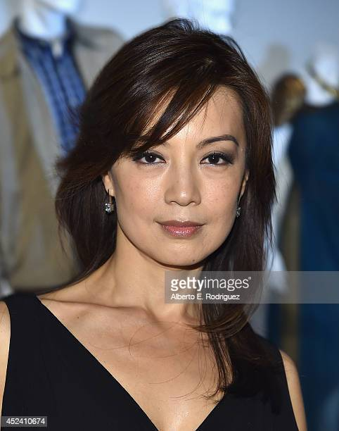Actress Ming NaWen attends the Academy of Television Arts Sciences' Costume Design Nominee Reception at FIDM Museum Galleries on the Park on July 19...