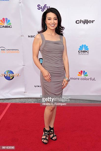 Actress MingNa arrives at The Cable Show 2010 'An Evening With NBC Universal' on May 12 2010 in Universal City California