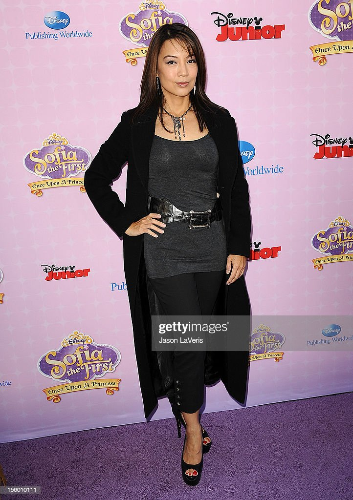 Actress Ming-Na attends the premiere of 'Sofia The First: Once Upon a Princess' at Walt Disney Studios on November 10, 2012 in Burbank, California.