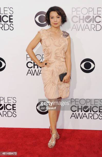 Actress MingNa Wen arrives at The 40th Annual People's Choice Awards at Nokia Theatre LA Live on January 8 2014 in Los Angeles California
