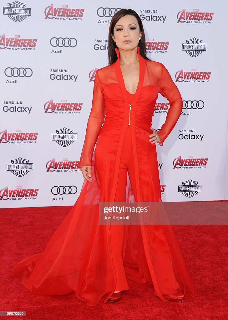 Actress MingNa Wen arrives at the Los Angeles Premiere Marvel's 'Avengers Age Of Ultron' at Dolby Theatre on April 13 2015 in Hollywood California