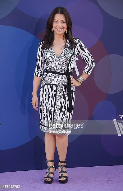 Actress MingNa Wen arrives at the Los Angeles premiere of Disney/Pixar's 'Inside Out' at the El Capitan Theatre on June 8 2015 in Hollywood California
