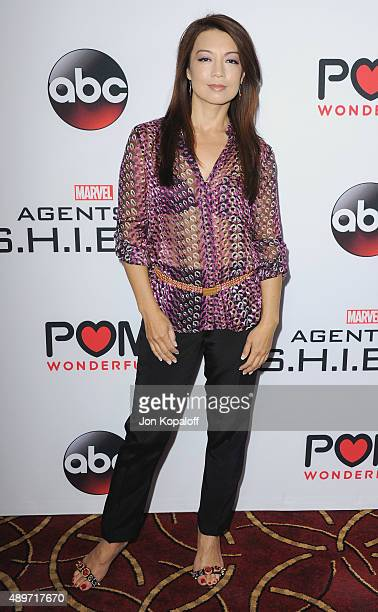 Actress MingNa Wen arrives at the Premiere Of Marvel's 'Agents Of SHIELD' at Pacific Theatre at The Grove on September 23 2015 in Los Angeles...