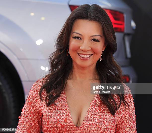 Actress MingNa Wen arrives at the premiere of Marvel's 'Captain America Civil War' on April 12 2016 in Hollywood California