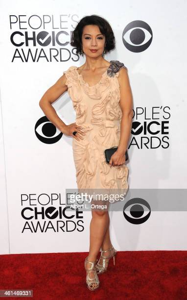 Actress MingNa Wen arrives for The 40th Annual People's Choice Awards Arrivals held at Nokia Theatre LA Live on January 8 2014 in Los Angeles...