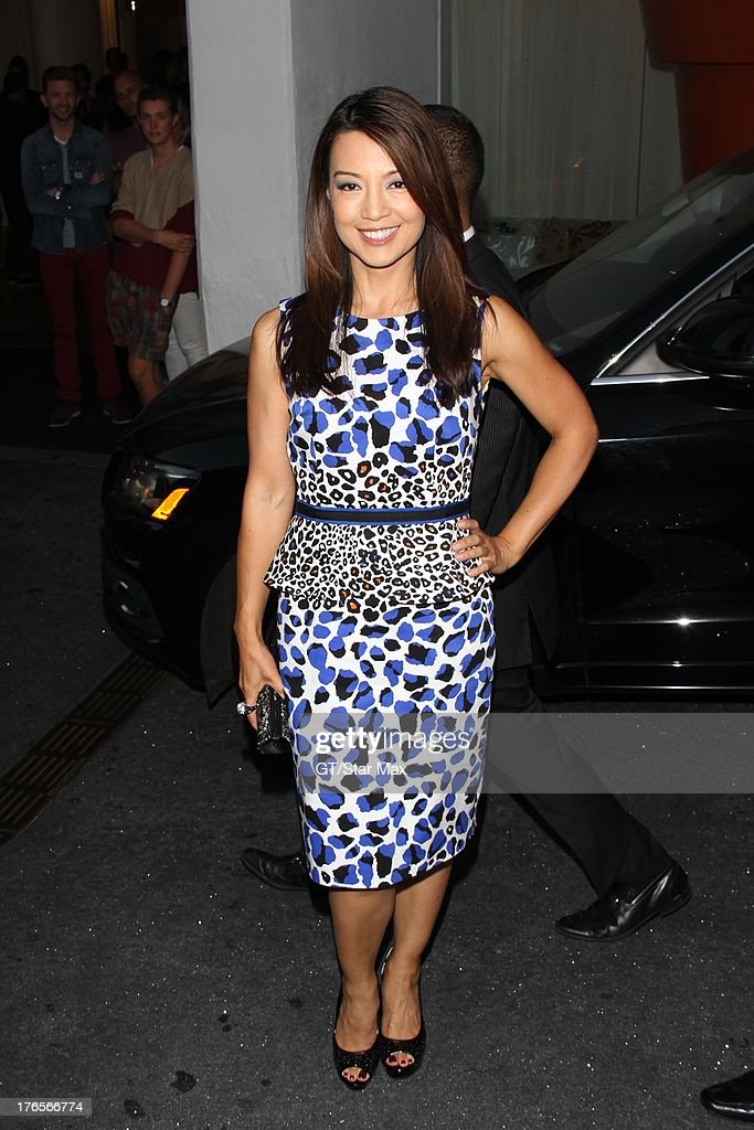 Actress Ming-Na Wen as seen on August 14, 2013 in Los Angeles, California.