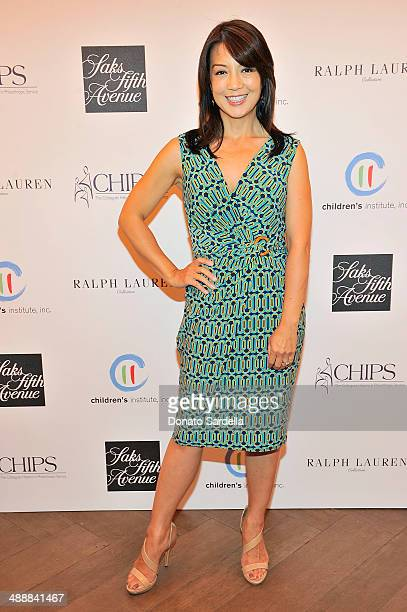 Actress MingNa Wen attend CHIPS Colleagues Helpers in Philanthropic Service Children's Institute annual charity luncheon at The Four Seasons Hotel on...