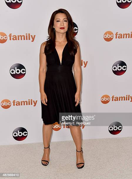 Actress MingNa Wen attends Disney ABC Television Group's 2015 TCA Summer Press Tour at the Beverly Hilton Hotel on August 4 2015 in Beverly Hills...