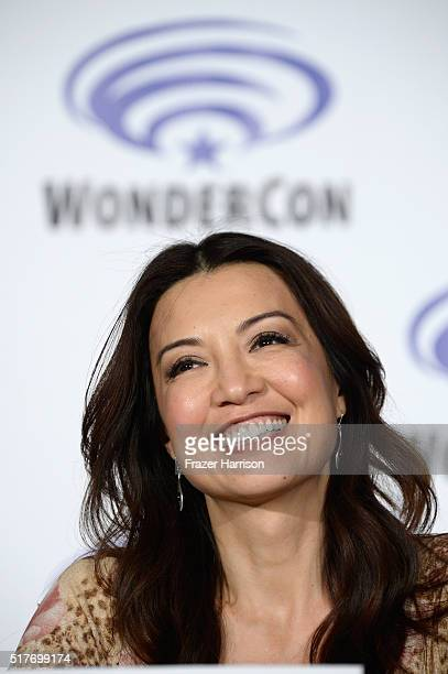 Actress MingNa Wen attends Marvel's Agents of SHI ELD panel at WonderCon 2016 Day 2 at Los Angeles Convention Center on March 26 2016 in Los Angeles...