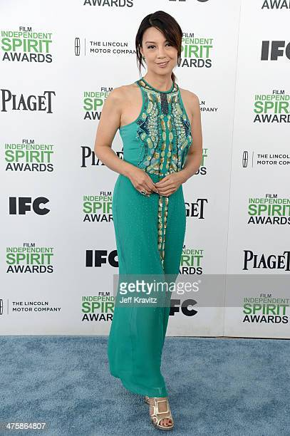 Actress MingNa Wen attends the 2014 Film Independent Spirit Awards on March 1 2014 in Santa Monica California
