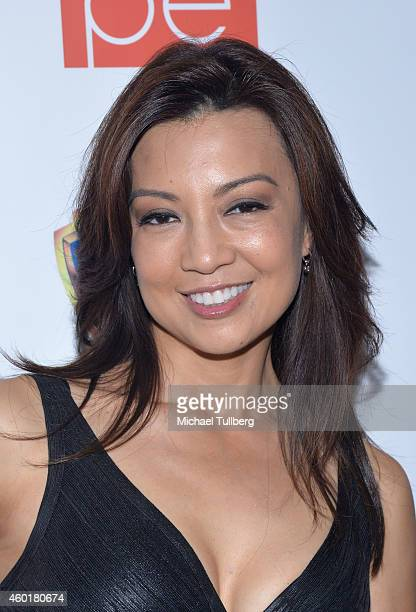 Actress MingNa Wen attends the CAPE Holiday Party at El Rey Theatre on December 8 2014 in Los Angeles California