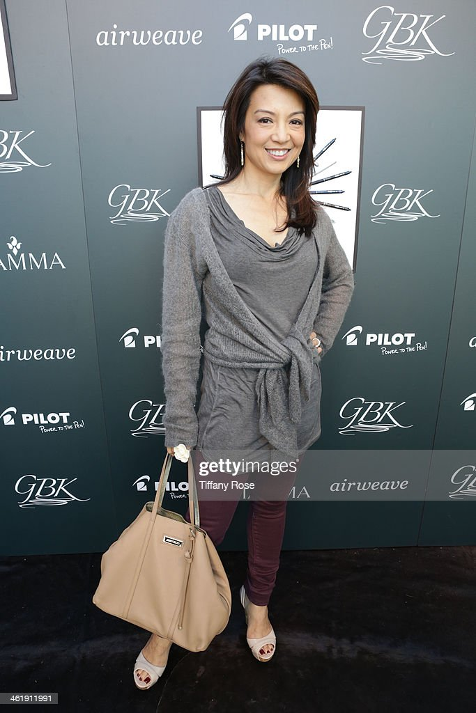 Actress Ming-Na Wen attends the GBK & Pilot Pen Pre-Golden Globe Gift Lounge on January 11, 2014 in Beverly Hills, California.