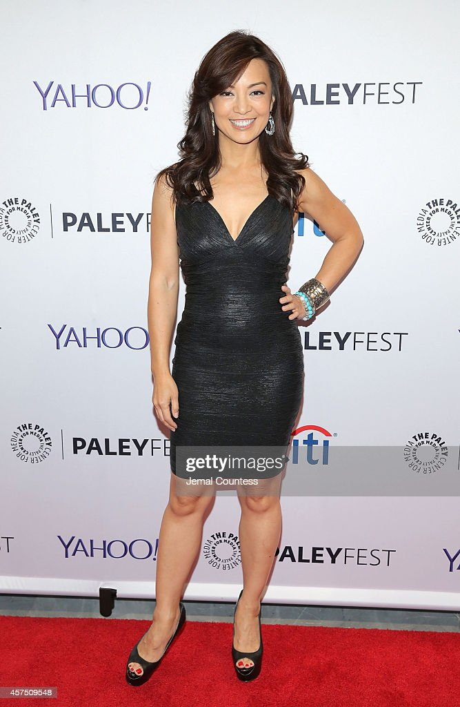 Actress MingNa Wen attends the 'Marvel Agents Of SHIELD' premiere and panal discussion during the 2nd Annual Paleyfest New York at Paley Center For...