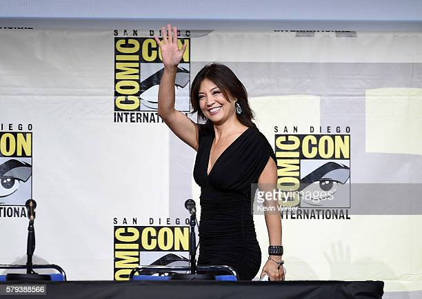 Actress MingNa Wen attends the Marvel Studios presentation during ComicCon International 2016 at San Diego Convention Center on July 23 2016 in San...
