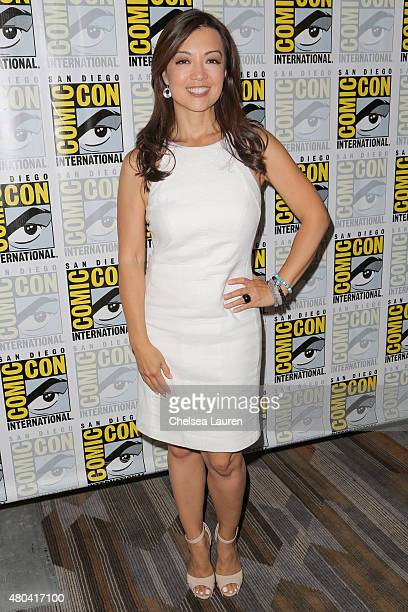 Actress MingNa Wen attends the 'Marvel's Agents of SHIELD' press room during day 2 of ComicCon International on July 10 2015 in San Diego California