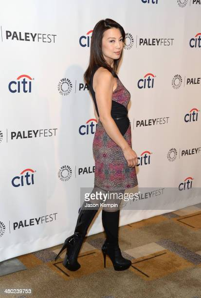 Actress MingNa Wen attends The Paley Center For Media's PaleyFest 2014 Honoring 'Marvel's Agents Of SHIELD' at Dolby Theatre on March 23 2014 in...