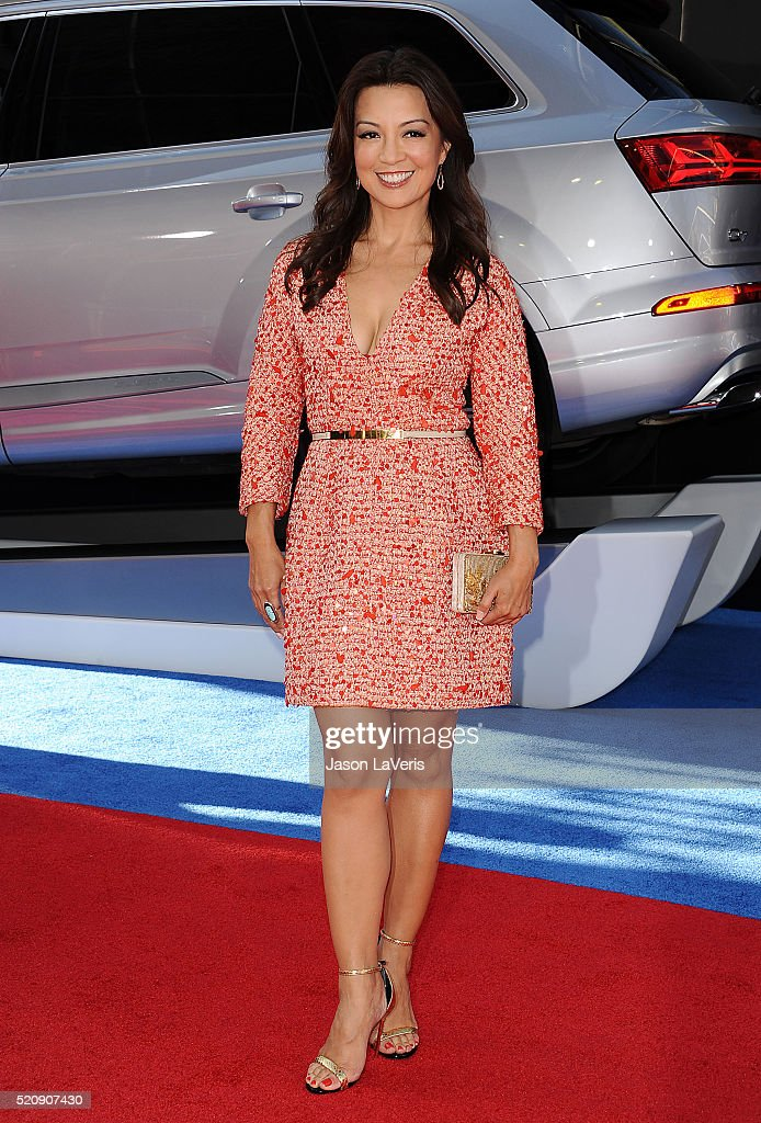 Actress MingNa Wen attends the premiere of 'Captain America Civil War' at Dolby Theatre on April 12 2016 in Hollywood California