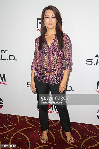 Actress MingNa Wen attends the premiere of Marvel's 'Agents of SHIELD' at Pacific Theatre at The Grove on September 23 2015 in Los Angeles California