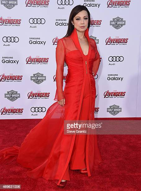 Actress MingNa Wen attends the premiere of Marvel's 'Avengers Age Of Ultron' at Dolby Theatre on April 13 2015 in Hollywood California