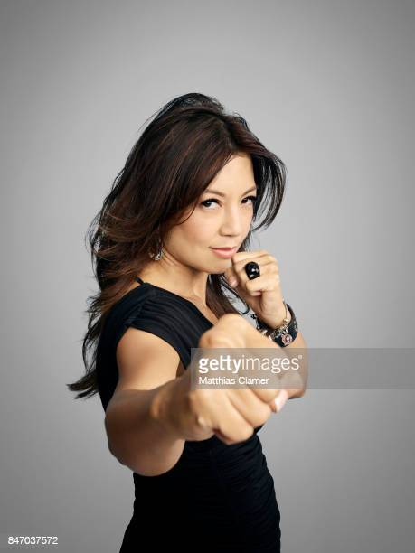 Actress MingNa Wen from 'Marvel's Agents of SHIELD' is photographed for Entertainment Weekly Magazine on July 23 2016 at Comic Con in the Hard Rock...
