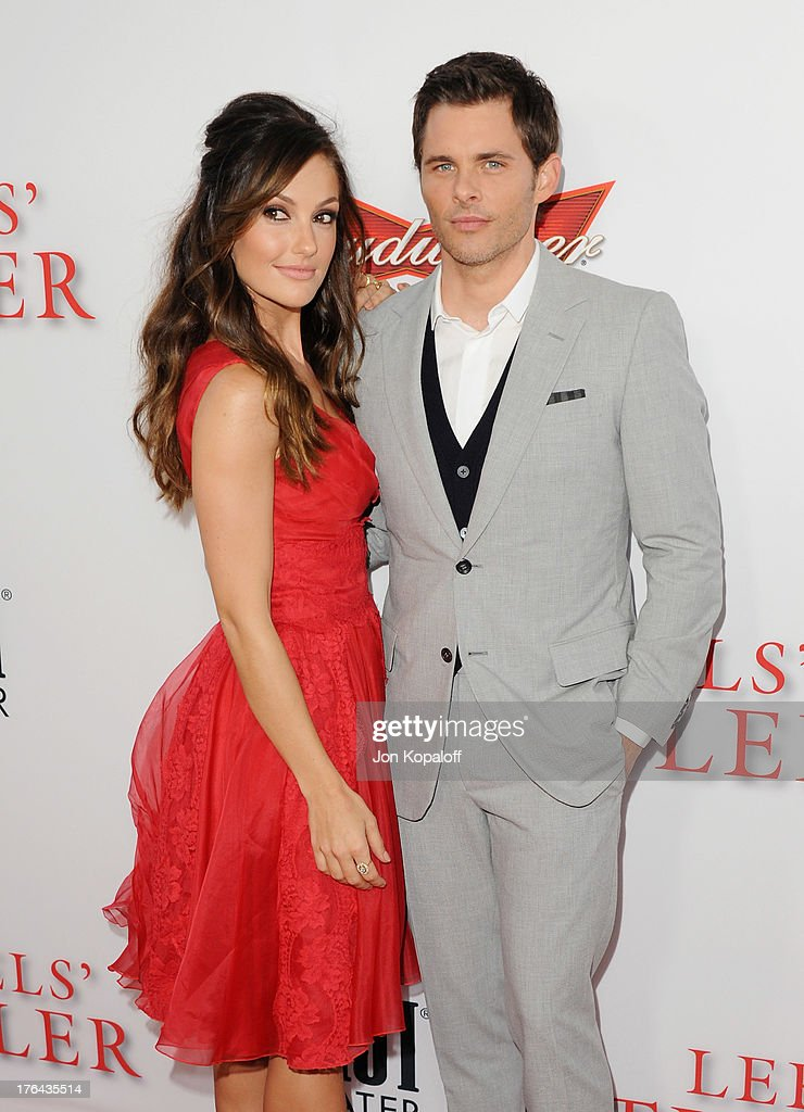 Actress Minka Kelly and actor James Marsden arrive at the Los Angeles Premiere 'Lee Daniels' The Butler' at Regal Cinemas L.A. Live on August 12, 2013 in Los Angeles, California.