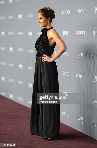 Actress Minka Kelly arrives at LACMA 2012 Art Film Gala Honoring Ed Ruscha and Stanley Kubrick presented by Gucci at LACMA on October 27 2012 in Los...