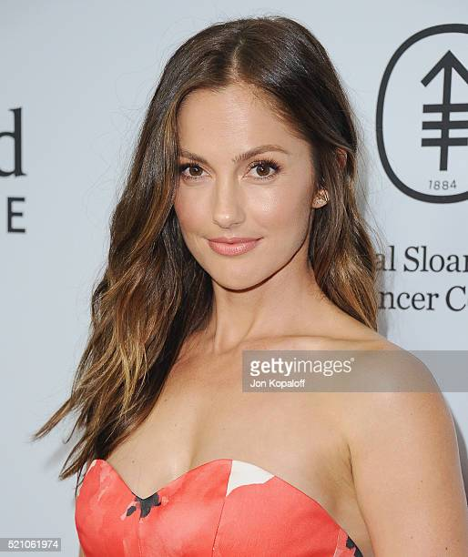 Actress Minka Kelly arrives at Sean Parker And The Parker Foundation Launch The Parker Institute For Cancer Immunotherapy Gala on April 13 2016 in...