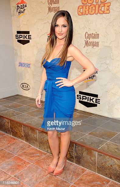 Actress Minka Kelly arrives at Spike TV's 5th annual 2011 'Guys Choice' Awards at Sony Pictures Studios on June 4 2011 in Culver City California