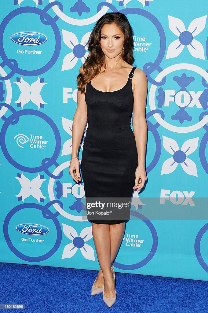 Actress <a gi-track='captionPersonalityLinkClicked' href=/galleries/search?phrase=Minka+Kelly&family=editorial&specificpeople=632847 ng-click='$event.stopPropagation()'>Minka Kelly</a> arrives at the 2013 Fox Fall Eco-Casino Party at The Bungalow on September 9, 2013 in Santa Monica, California.