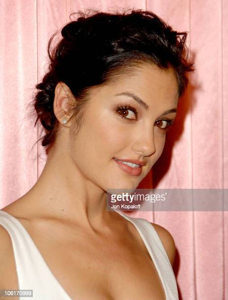 Actress Minka Kelly arrives at 'The 7th Annual Awards Season Diamond Fashion Show' at the Beverly Hills Hotel on January 10 2008 in Beverly Hills...