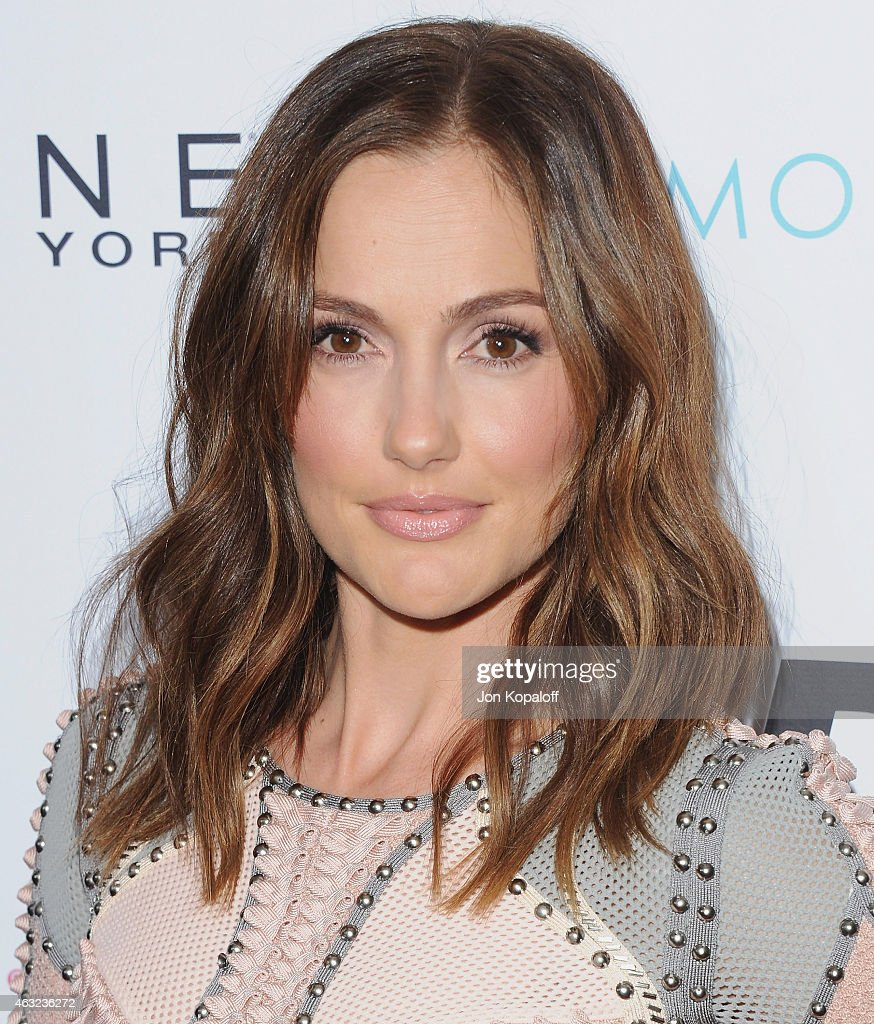 Actress Minka Kelly arrives at The Daily Front Row's 1st Annual Fashion Los Angeles Awards at Sunset Tower Hotel on January 22 2015 in West Hollywood...