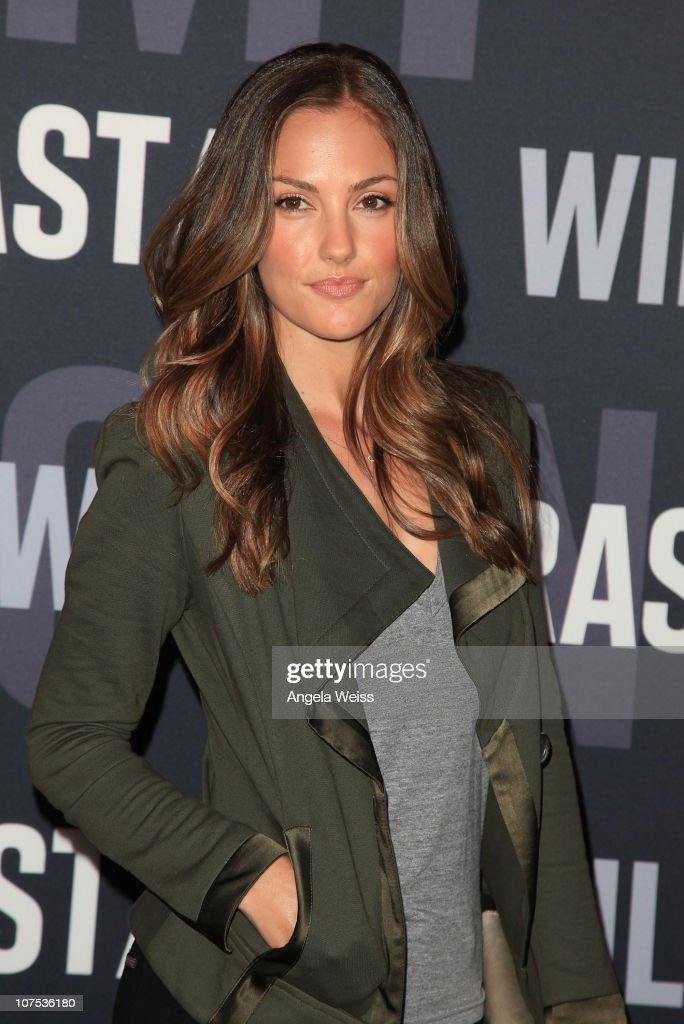 Actress <a gi-track='captionPersonalityLinkClicked' href=/galleries/search?phrase=Minka+Kelly&family=editorial&specificpeople=632847 ng-click='$event.stopPropagation()'>Minka Kelly</a> arrives at the launch of Target's & William Rast's Limited Edition Collection shopping event at Factory Place on December 11, 2010 in Los Angeles, California.