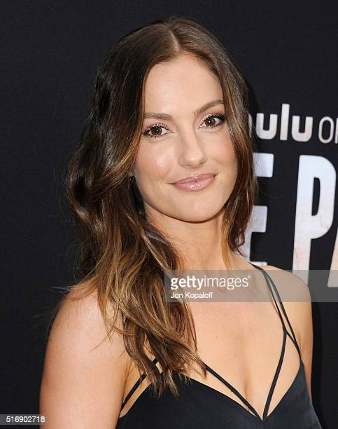 Actress Minka Kelly arrives at the Premiere Of Hulu's 'The Path' at ArcLight Hollywood on March 21 2016 in Hollywood California