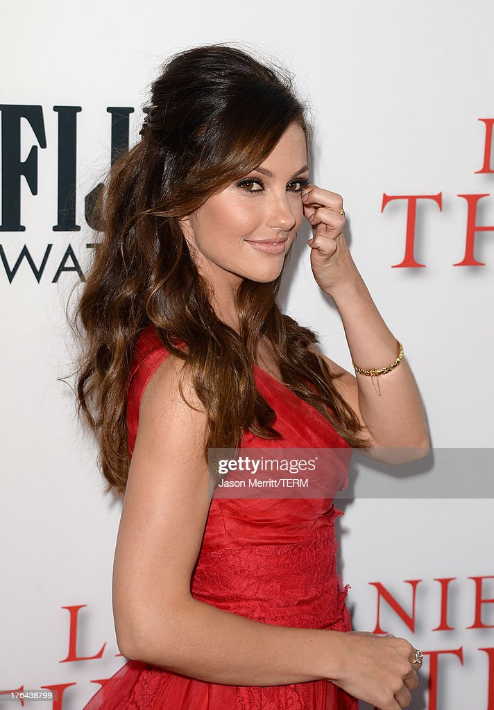 Actress Minka Kelly arrives at the premiere of The Weinstein Company's 'Lee Daniels' The Butler' at Regal Cinemas L.A. Live on August 12, 2013 in Los Angeles, California.