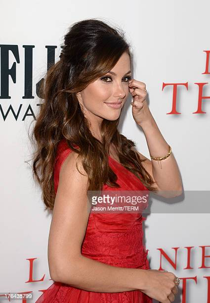 Actress Minka Kelly arrives at the premiere of The Weinstein Company's 'Lee Daniels' The Butler' at Regal Cinemas LA Live on August 12 2013 in Los...