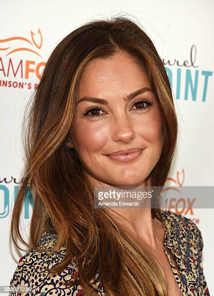 Actress Minka Kelly arrives at the Raising The Bar To End Parkinson's event at Laurel Point on July 27 2016 in Studio City California