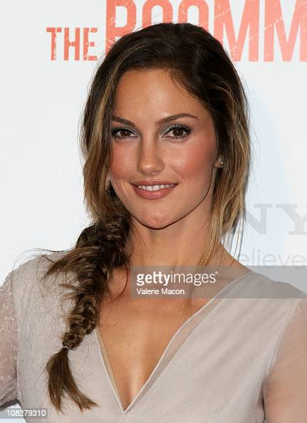 Actress Minka Kelly arrives at the Screening Of Screen Gems' 'The Roommate' on January 23 2011 in West Hollywood California