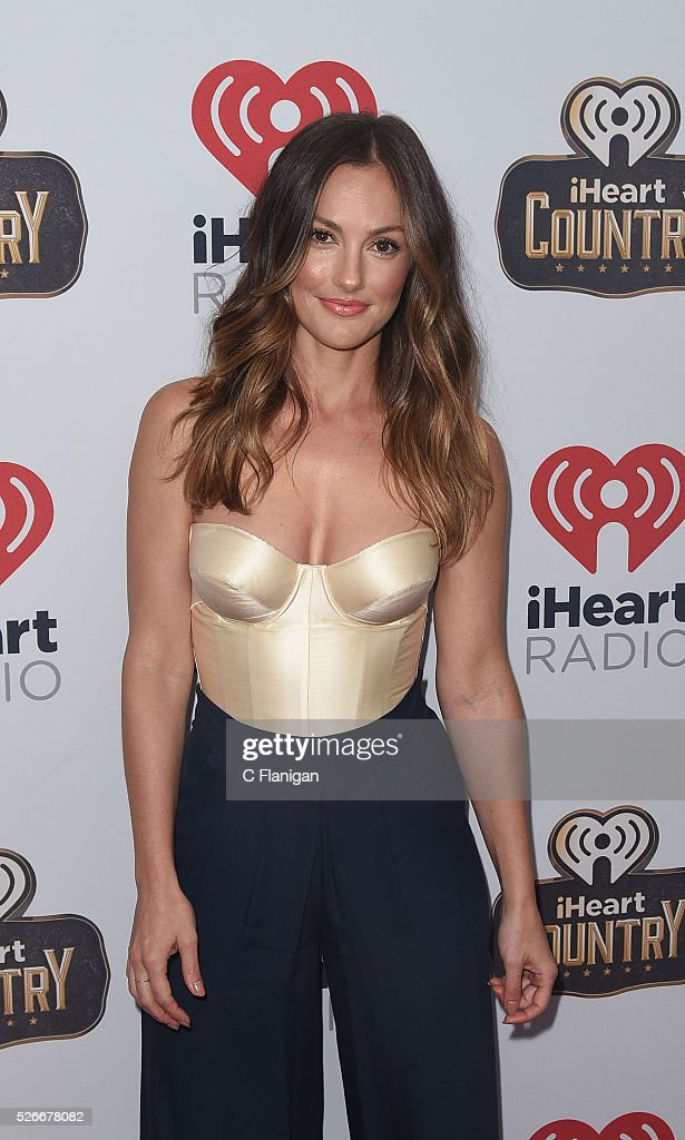 Actress <a gi-track='captionPersonalityLinkClicked' href=/galleries/search?phrase=Minka+Kelly&family=editorial&specificpeople=632847 ng-click='$event.stopPropagation()'>Minka Kelly</a> arrives to the 2016 iHeartCountry Festival at The Frank Erwin Center on April 30, 2016 in Austin, Texas.