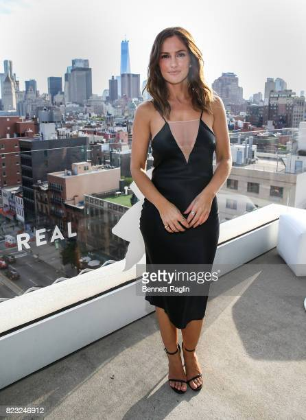 Actress Minka Kelly attends 'Dove Chocolate Journey' series screening at The New Museum on July 26 2017 in New York City