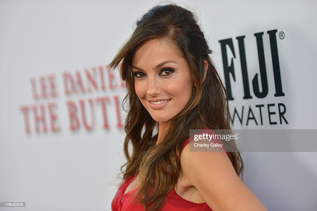 Actress Minka Kelly attends LEE DANIELS' THE BUTLER Los Angeles premiere, hosted by TWC, Budweiser and FIJI Water, Purity Vodka and Stack Wines, held at Regal Cinemas L.A. Live on August 12, 2013 in Los Angeles, California.