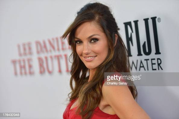 Actress Minka Kelly attends LEE DANIELS' THE BUTLER Los Angeles premiere hosted by TWC Budweiser and FIJI Water Purity Vodka and Stack Wines held at...