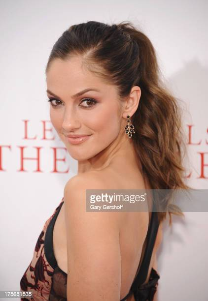 Actress Minka Kelly attends Lee Daniels' 'The Butler' New York Premiere at Ziegfeld Theater on August 5 2013 in New York City