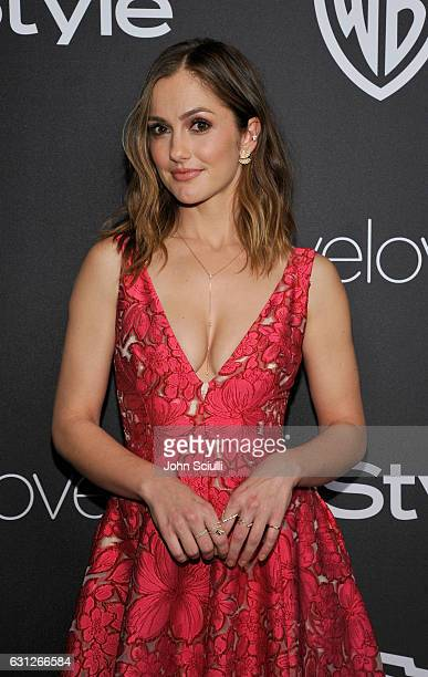 Actress Minka Kelly attends The 2017 InStyle and Warner Bros 73rd Annual Golden Globe Awards PostParty at The Beverly Hilton Hotel on January 8 2017...