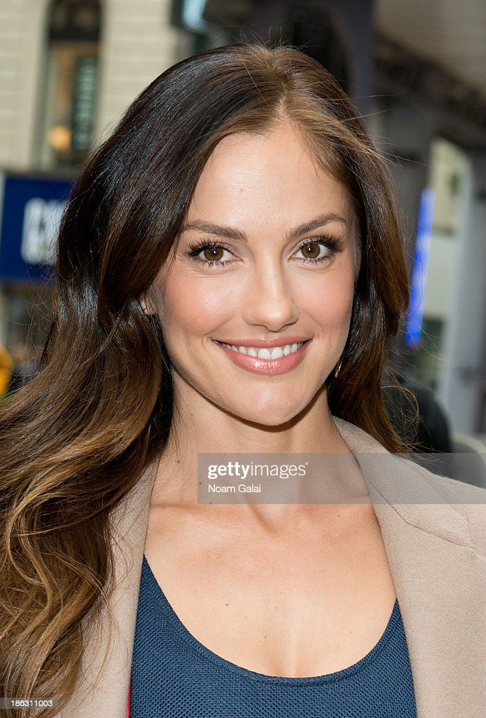 Actress <a gi-track='captionPersonalityLinkClicked' href=/galleries/search?phrase=Minka+Kelly&family=editorial&specificpeople=632847 ng-click='$event.stopPropagation()'>Minka Kelly</a> attends the Almost Human-(hattan) Experience in Herald Square on October 30, 2013 in New York City.