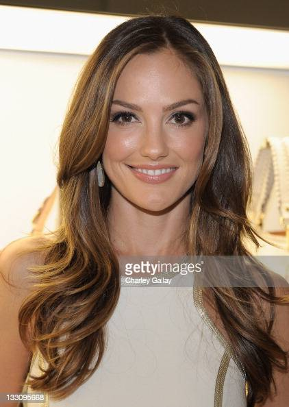 Actress Minka Kelly attends the opening of the new Michael Kors boutique on Robertson with an evening hosted by Petra Flannery benefitting St Jude...