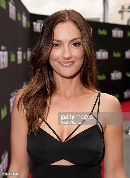 Actress Minka Kelly attends The Path Premiere Party at ArcLight Hollywood on March 21 2016 in Hollywood California