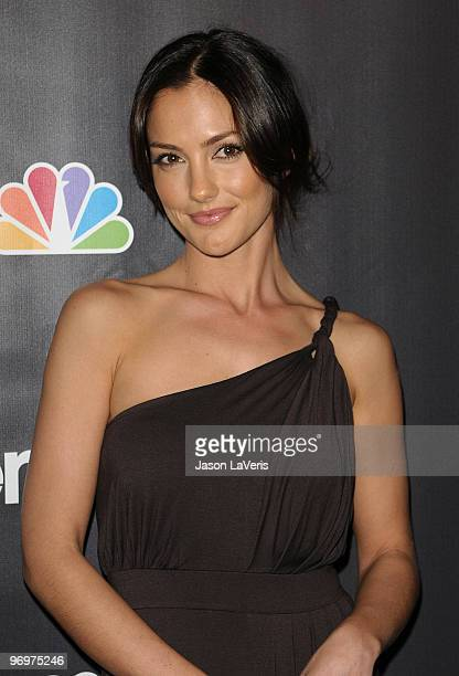 Actress Minka Kelly attends the premiere screening of NBC Universal's 'Parenthood' at the Directors Guild Theatre on February 22 2010 in West...