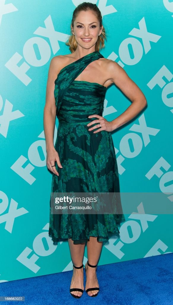 Actress Minka Kelly of 'Almost Human' attends the FOX 2103 Programming Presentation Post-Party at Wollman Rink - Central Park on May 13, 2013 in New York City.